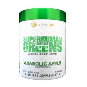 Alpha Lion SuperHuman Greens Anabolic Apple