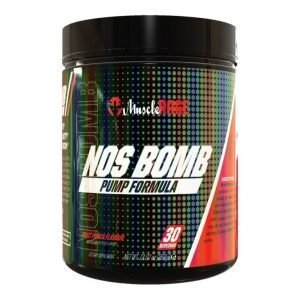 Muscle Rage NOS BOMB Pump Pre Workout Shapeshifter Nutrition