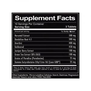 Redcon1 Waterboard Ingredients List