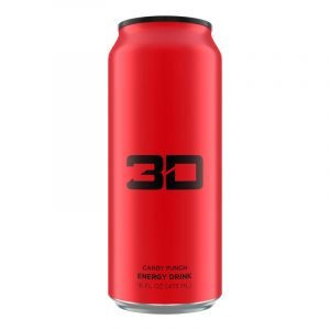 3d Energy Drink Can Red