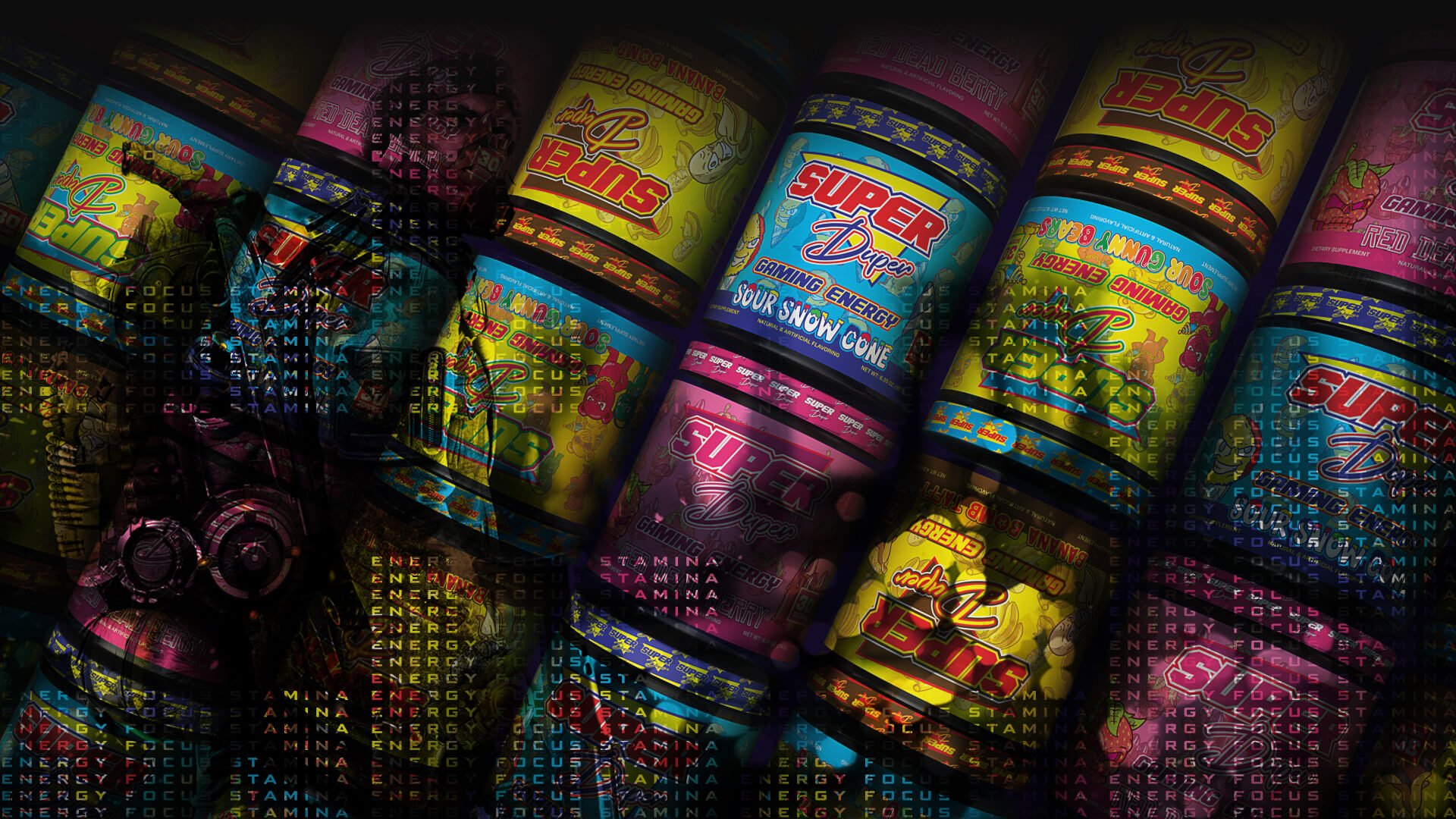 Super Duper Labs Gaming Nootropic Background v2