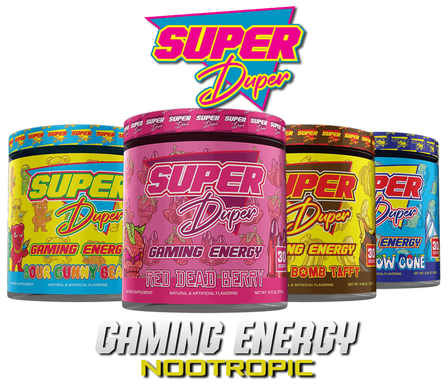 Super Duper Labs Gaming Nootropic Image