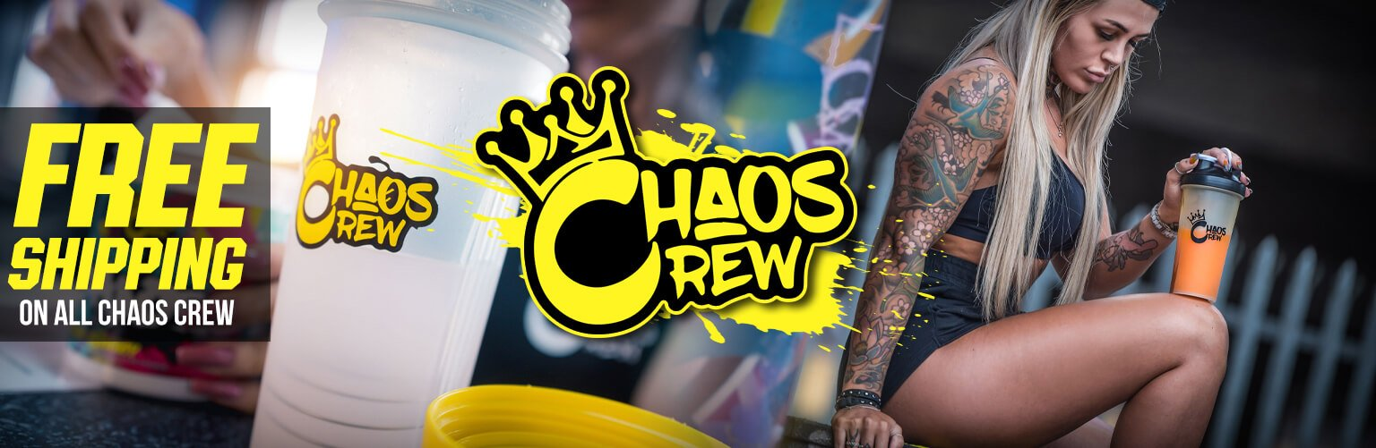 Chaos Crew Bring the Chaos Banner UK FREE SHIPPING