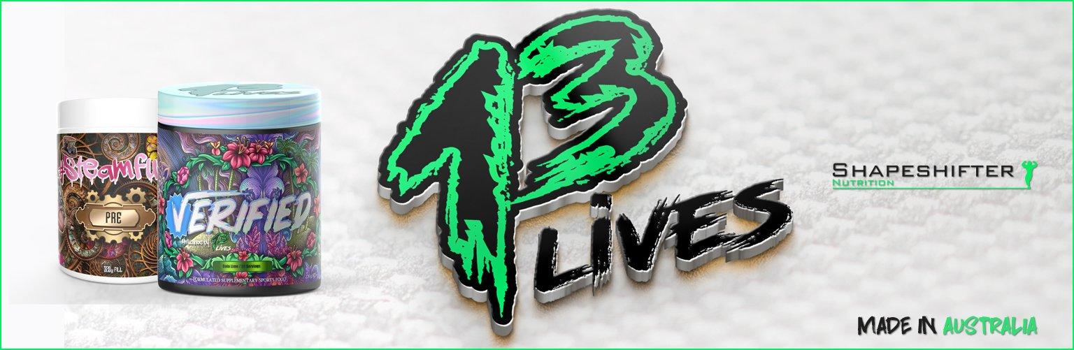 13 Lives Banner