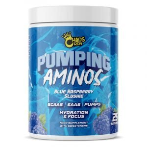 pumping aminos blue raspberry