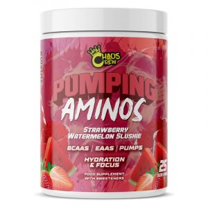 pumping aminos strawberry watermelon slushie